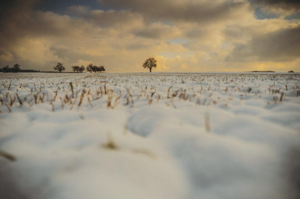 Lerne Schnee fotografieren